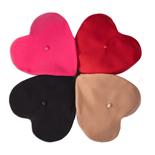 Heart shaped Berets