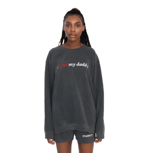 Women's I Love My Daddy Sweatshirt