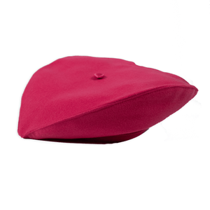 Pink Heart Shaped Beret