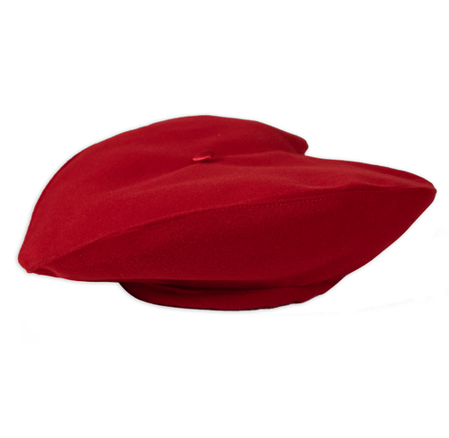 Red Heart Beret for Men