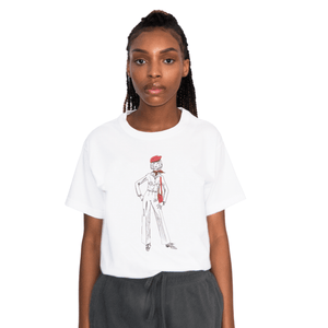 Women's Heart Beret T-Shirt