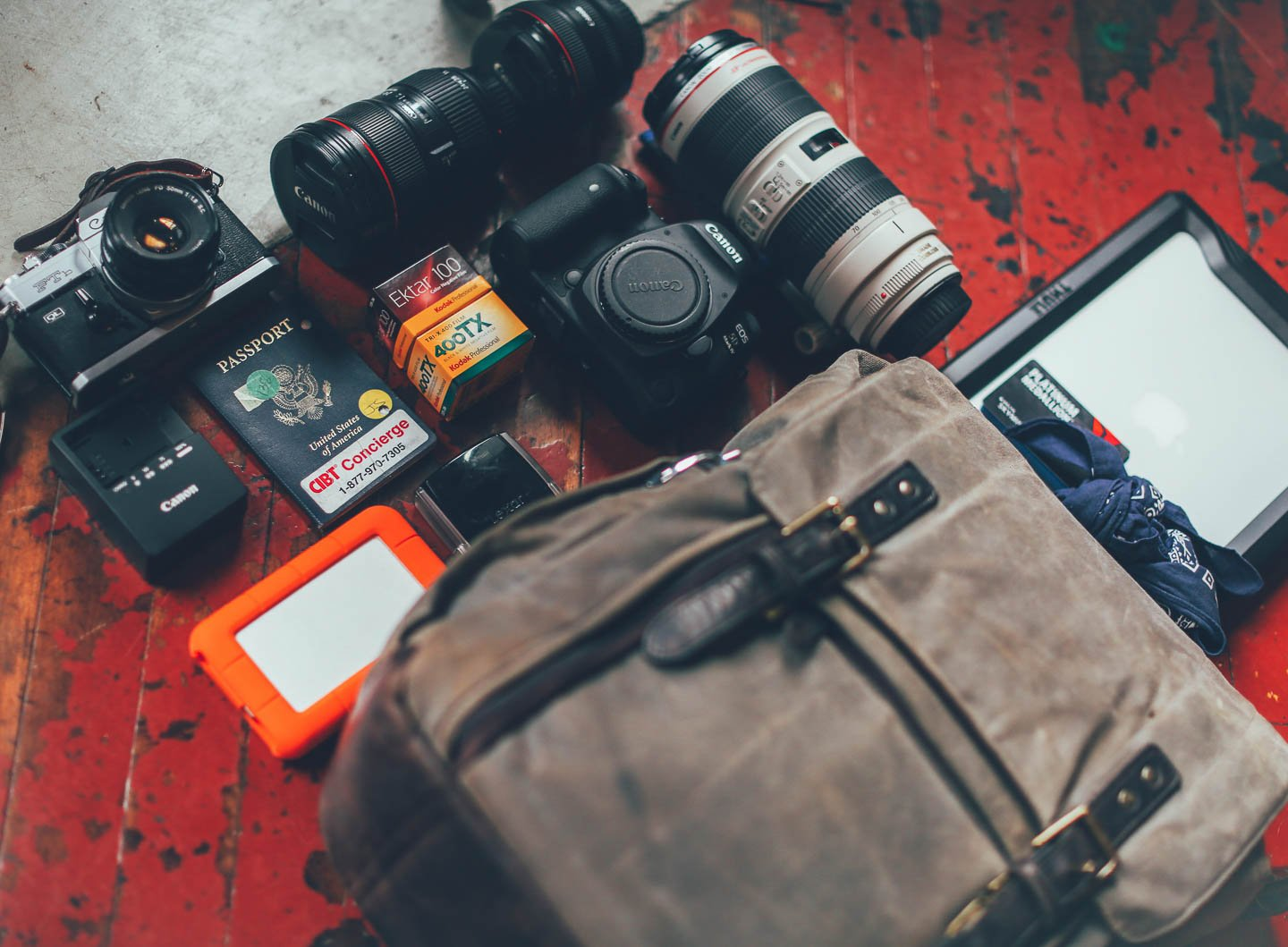 What's in Daniel C. White's Camps Bay Backpack