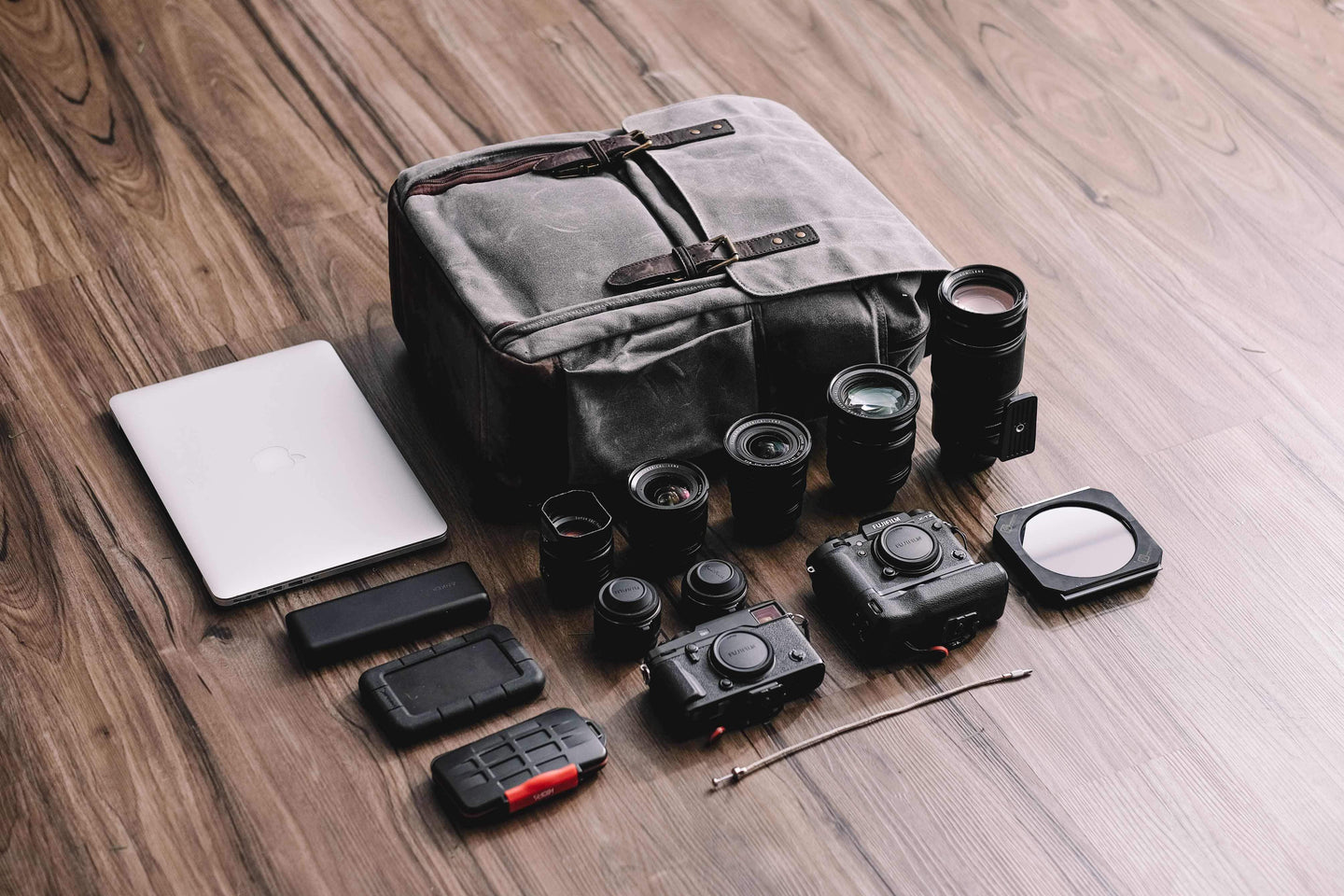 What's in Bryan Minear's Camps Bay Backpack