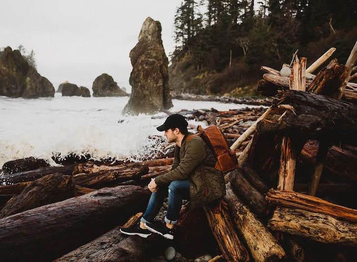 Washington Coast with Berty Mandagie and the Clifton Backpack