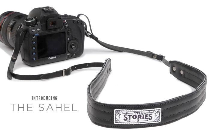 The Sahel: a charity: water collaboration camera strap