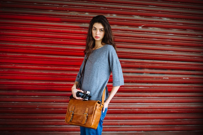 The Berlin Leica Camera Messenger Bag