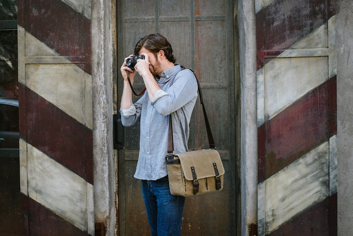 The Prince Street Camera Messenger Bag