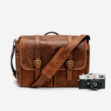 Antique Cognac Leica Leather