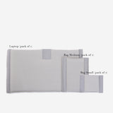 Laptop Divider with Hook Patch Grey (Set of 1)