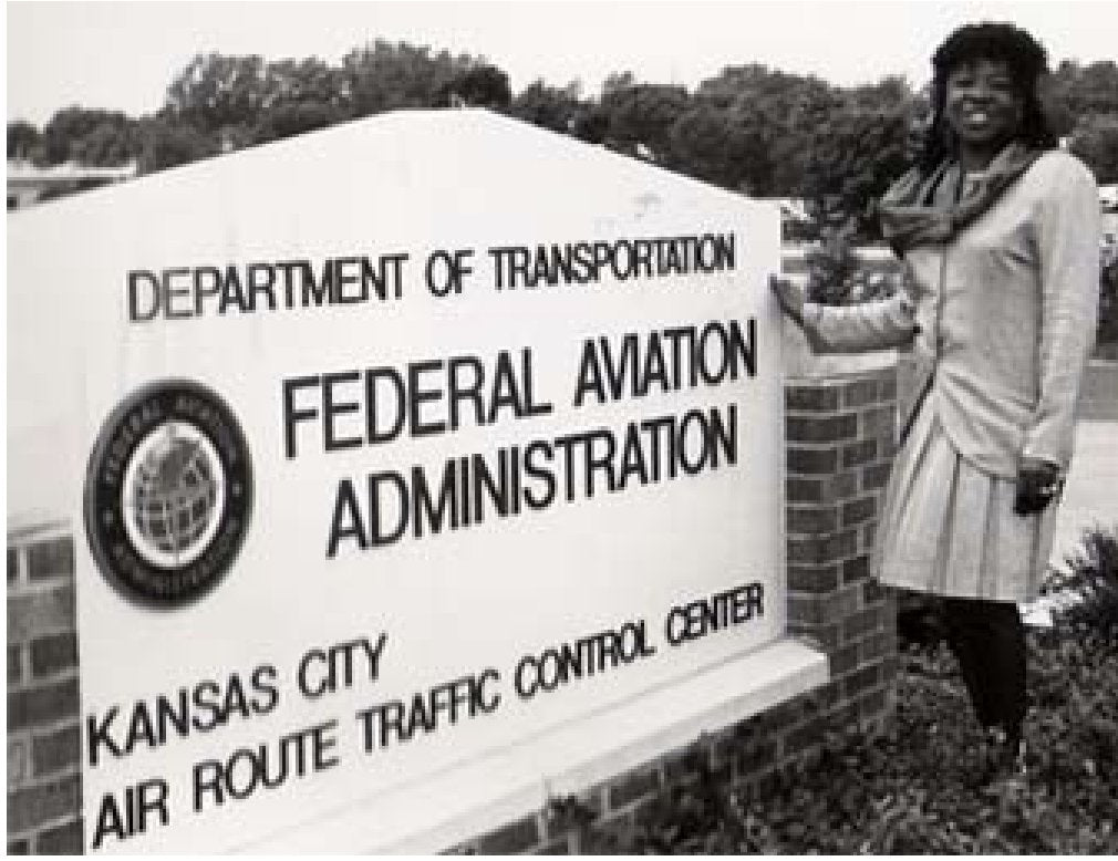 Eleanor Joyce Toliver-Williams  - the first African-American woman to certify as an air traffic controller