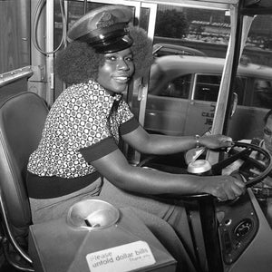 Mary Wallace: The First Female Bus Driver for Chicago Transit Authority, Beginning in 1974