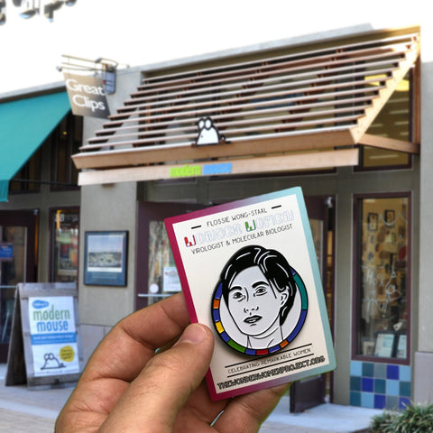 Wonder Women Education Pins At Modern Mouse in Alameda, California
