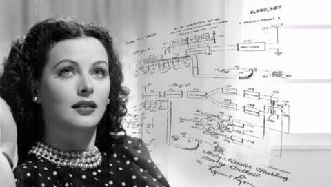 Hedy Lamarr With Patent