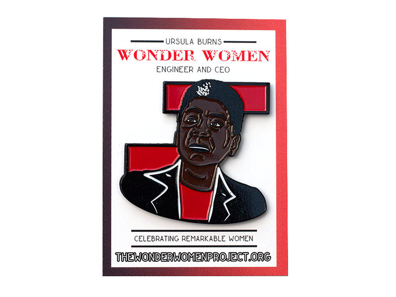 Ursula Burns Enamel Pin