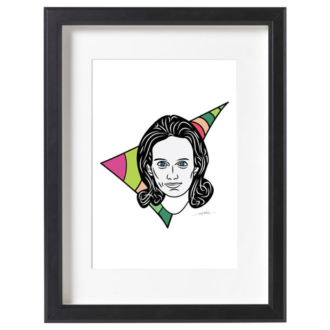 Mary Wells Lawrence Print