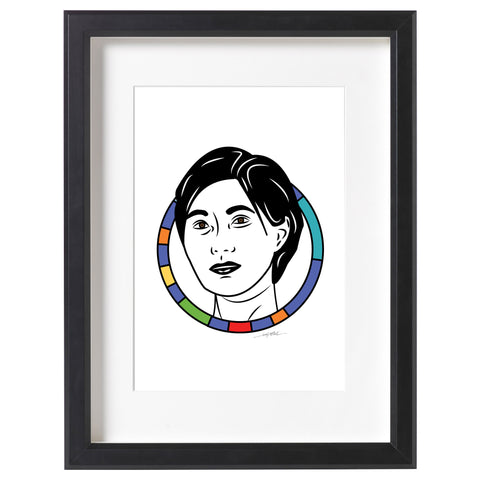 Flossie Wong-Staal Print