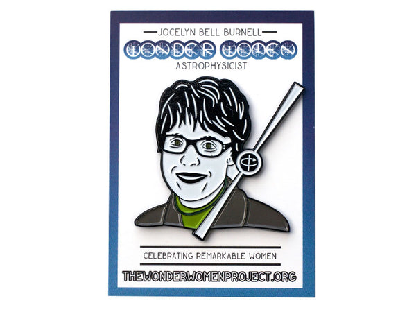 Jocelyn Bell Burnell Enamel Pin