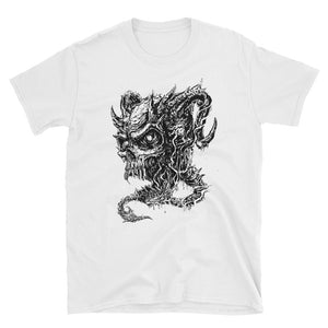 Cross Over Tattoo Demon Skull T-Shirt