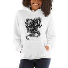 Load image into Gallery viewer, Cross Over Tattoo Vengence Demon Hoodie