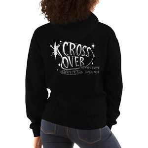 Cross Over Tattoo Lost Below Hoodie