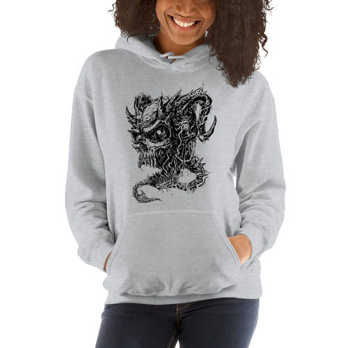 Cross Over Tattoo Vengence Demon Hoodie