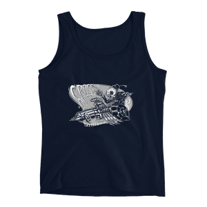 Ink Gun Hot Rod Ladies' Tank