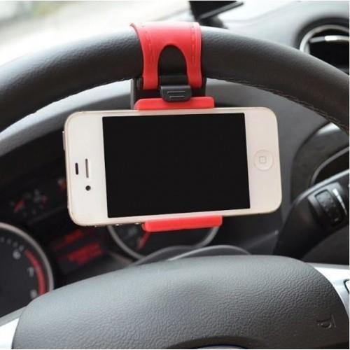Car Steering wheel phone Universal Mount Holder Stand - HUMAN