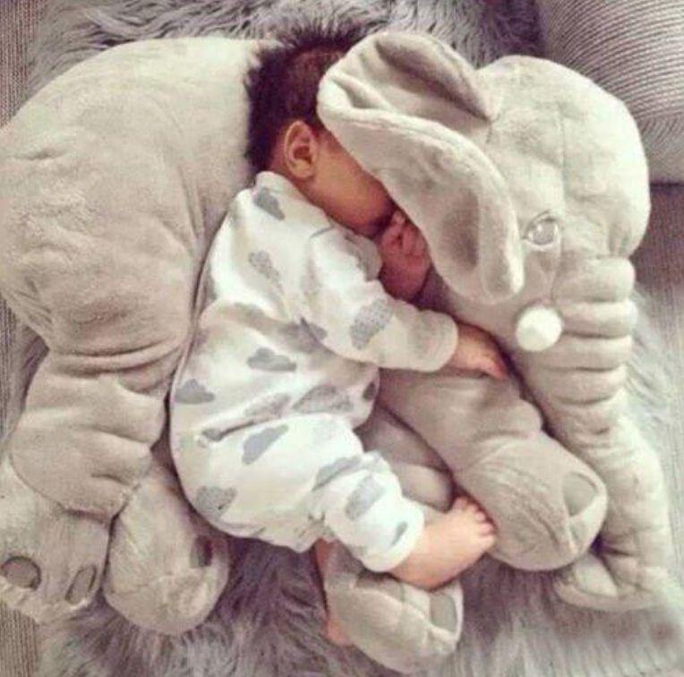 Baby Elephant Pillow - HUMAN