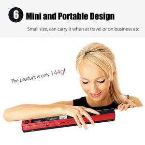 iScan Portable Scanner - HUMAN