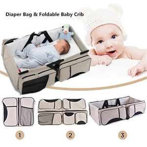 3-in-1 Portable Diaper Bag - HUMAN