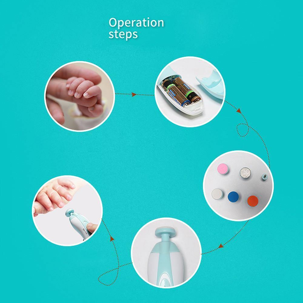 Automatic Baby Nail Trimmer - HUMAN