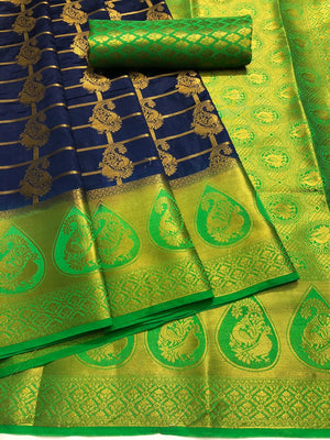 ADORBLE BEUTIFUL JACARD SILK SAREE