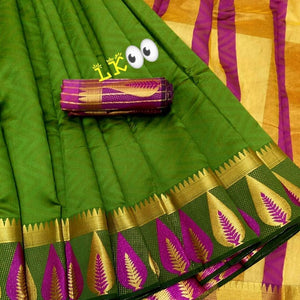 Beautiful Kanjivaram Silk Saree