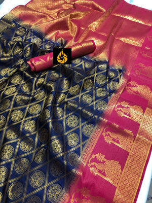 Ensemble Nylon Silk Women's Sarees