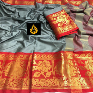 Trendy Attractive Cotton SilkSarees