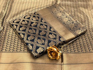 EVERGREEN BEAUTIFUL DESIGNER BANARASI SILK SAREES