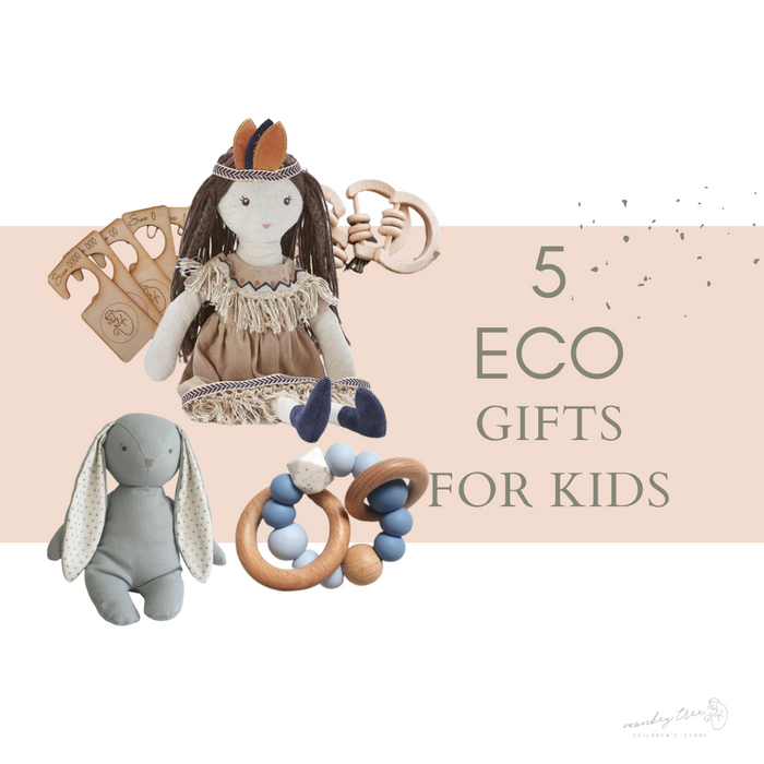 5 Plastic Free Baby and Kids Gifts