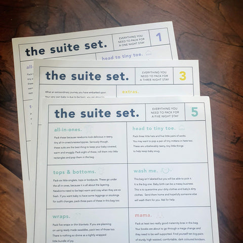 The Suite Set