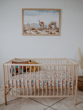 Load image into Gallery viewer, Australiana Fitted Cot Sheet