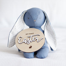 Load image into Gallery viewer, Bobby Floppy Bunny 25cm - Blue Linen