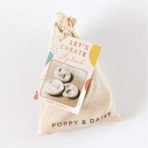 Clay Fossils Mini Eco Bags