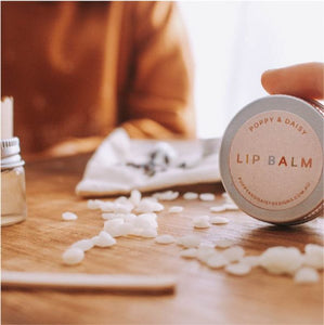 Lavender Lip Balm Mini Eco Bags