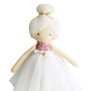 Amelie Doll Pink Paisley 55cm