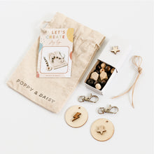 Load image into Gallery viewer, Natural Bag Tags Mini Eco Bags
