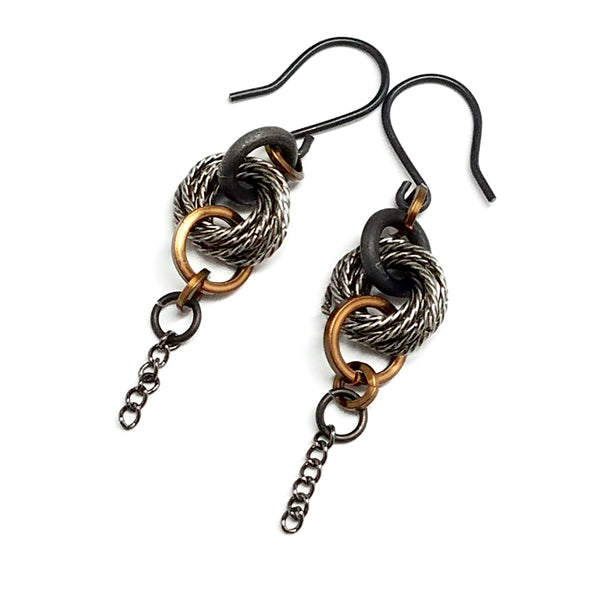 Modern Love Knot Earrings