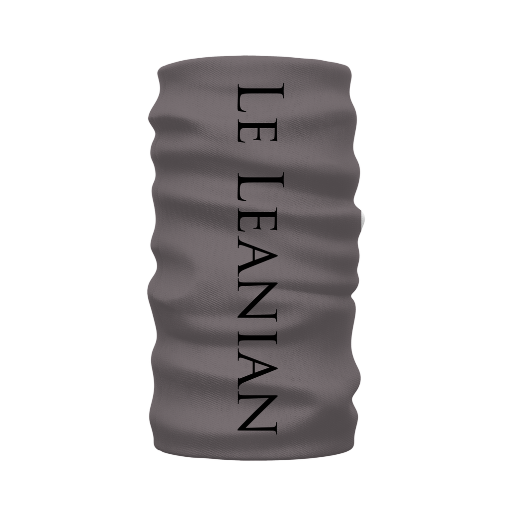Bee Divergent Abstract- French Gothic Neck Warmer- Morf Scarf in Lavender Steel | Le Leanian™