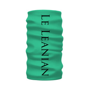 Versailles Golden Skull Breathing Butterfies- French Gothic Neck Warmer- Morf Scarf- in Bold Jade Teal | Le leanian™