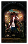 The New Orleans Chronicles: Stix - Surreal Fashion Byzantine Fine Art Portrait Print on Metal | The Photographist™