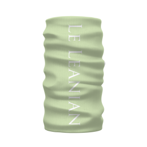 The Hive Relief- French Gothic Neck Warmer- Morf Scarf in Pale Green | Le Leanian™