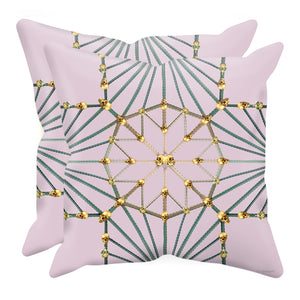 Skull Cathedral- Sets & Singles Pillowcase in Nouveau Blush Taupe | Le Leanian™